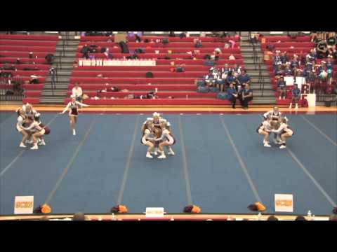 Garrard County High School - 2015 KHSAA 12th Region Cheer Tournament