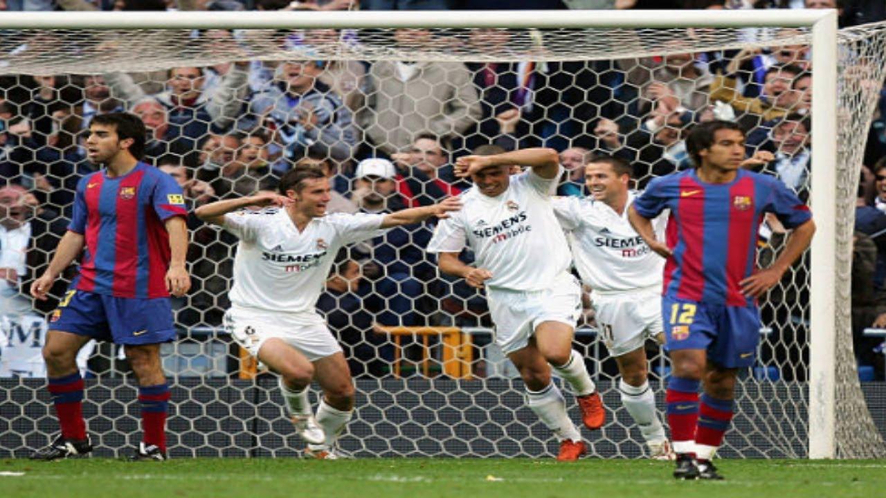 Download Real Madrid vs FC. Barcelona (2004/2005)   Partido Completo
