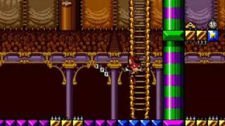 Aero the Acro-Bat (Sega Genesis) Circus - Act 1