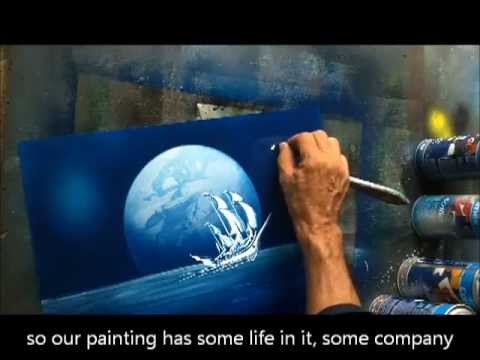 Spray Paint Art Secrets - YouTube