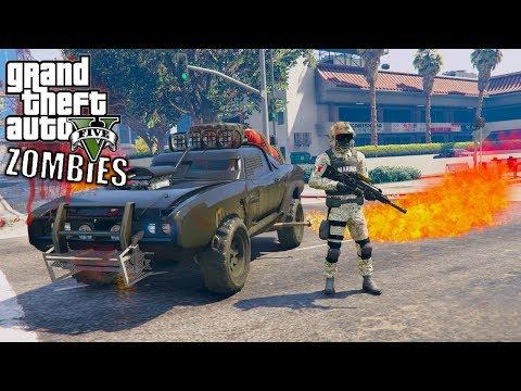 GTA 5 APOCALIPSIS ZOMBIES VS MARINA ARMADA DE MEXICO -EP#14  GTA V MODS PC EdgarFtw