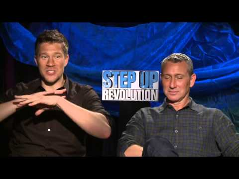 Step Up Revolution - Interview with Adam Shankman, Scott Speer, Jamal Sims & Stephen 'tWitch' Boss