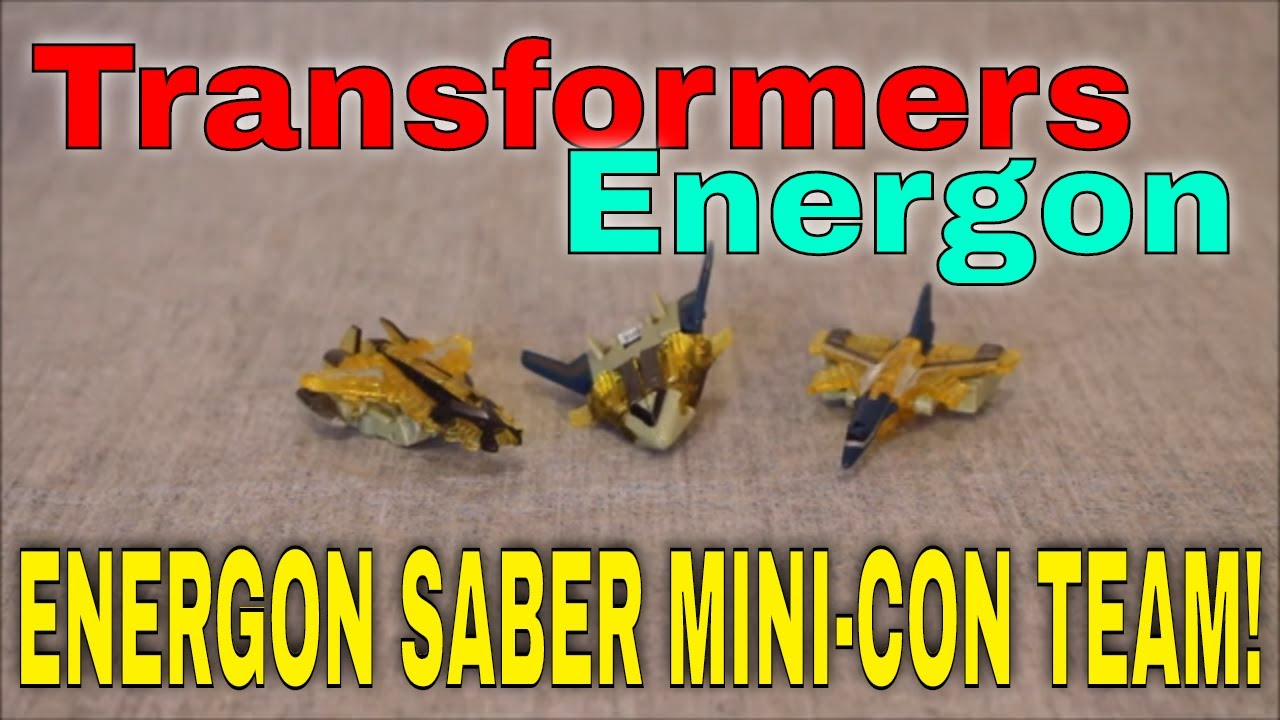Energon Saber Power!: Transformers Energon Saber Mini-Con Team By GotBot