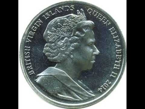 Coins of the British virgin Islands. British virgin Islands