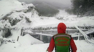 Italy  Images emerge from inside Hotel Rigopiano, devastated by terrible avalanche