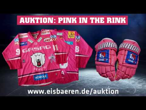 Pink in the Rink 2017 - Auktionsende