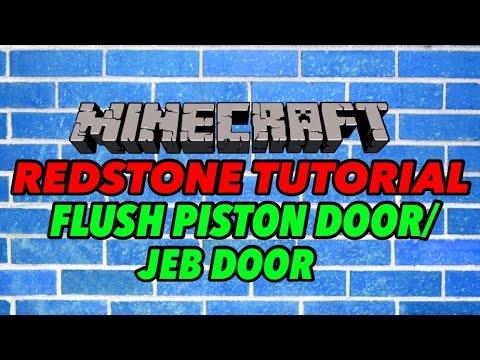 Piston Door 2x2 2x2 Flush Pistons Door / Jeb