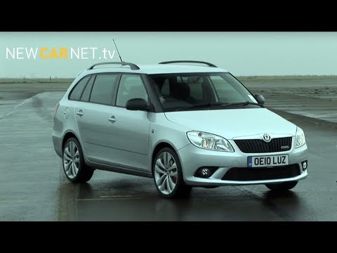 Skoda Fabia vRS Estate : Car Review