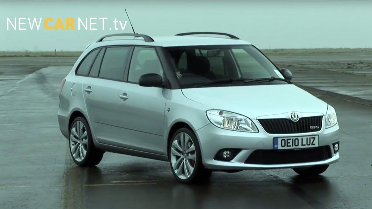 Skoda Fabia Vrs Estate Car Review Youtube