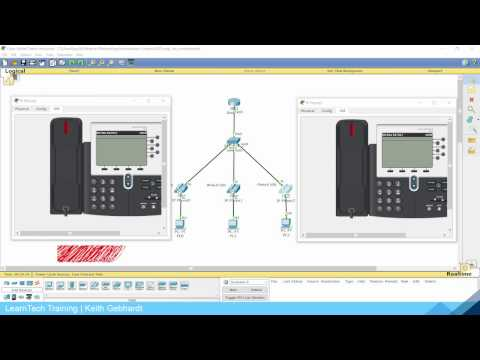Configuring VoIP Phones in Cisco Packet Tracer