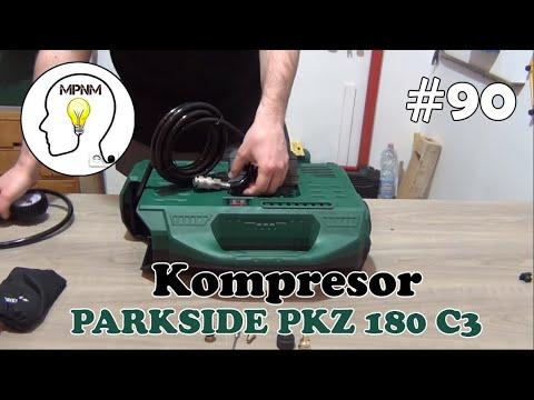 #90 - Kompresor Parkside PKZ 180 C3