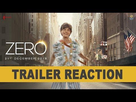 Zero   Trailer Reaction   Shah Rukh Khan   Aanand L Rai   Anushka   Katrina  