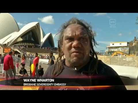 Brisbane Aboriginal sovereign protest Royal visit   SBS News