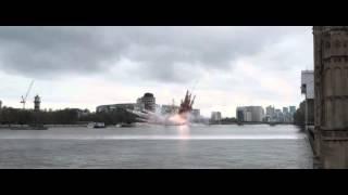 Падение Лондона   Русский  Трейлер 2016