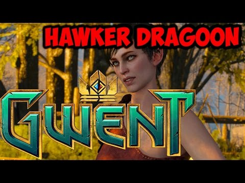 Gwent Hawker Dragoon ~ Tight Spot ~ The Witcher Card Game