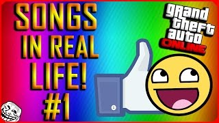 Gta 5 online songs in real life (irl) funny moments!
