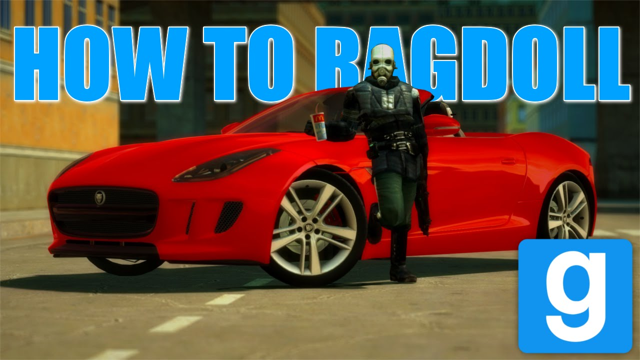 how to create a ragdoll for gmod