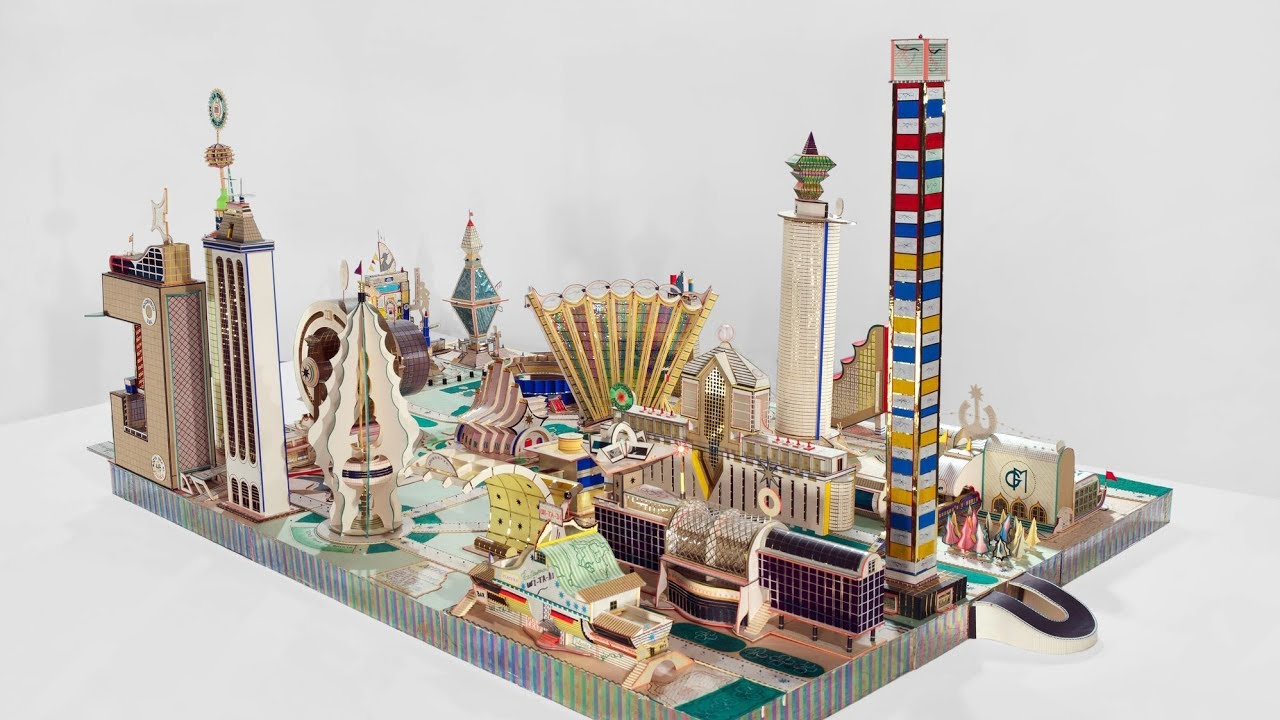 Bodys Isek Kingelez: City Dreams | MoMA