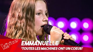 Emmanuelle - 'Toutes les machines ont un coeur' | Blind Auditions | The Voice Kids Belgique