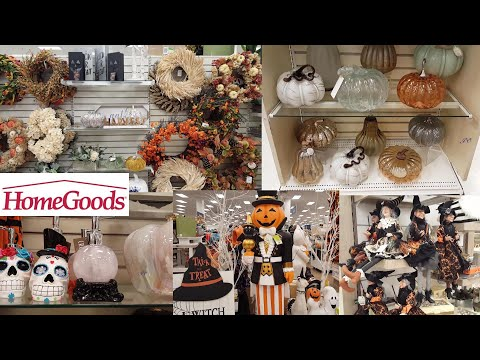 MARSHALLS HOME GOODS HALLOWEEN DECORATIONS HOME DECOR SHOP WITH ME SHOPPING STORE WALK THROUGH 2019