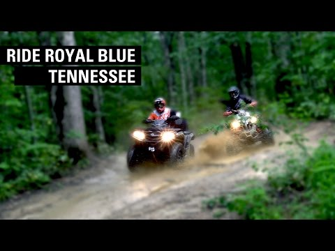 Ride Royal Blue In East Tennessee - Exploring The Cumberland Mountains On ATVs & SXSs