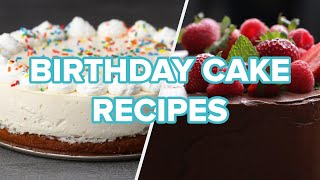 5 Cakes To Bake For A Birthday Party  Tasty