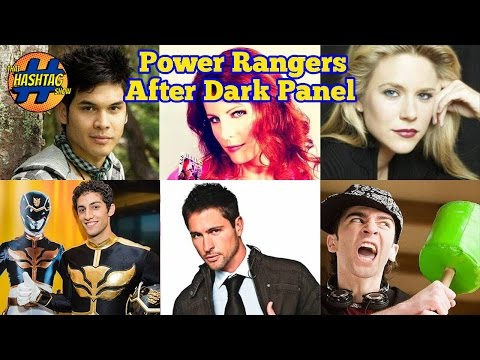 Power Rangers After Dark Panel | Morphin' Monday | That Hashtag Show