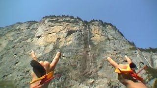 Old VHS Footage of Shane McConkey BASE Jumping | McConkey