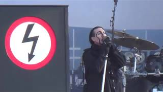 Marilyn Manson -Irresponsible Hate Anthem live at Download 2018
