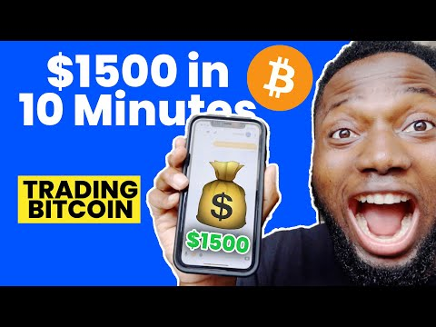 How I Made $1500 in 10 Minutes Trading Bitcoin – Showing Proof