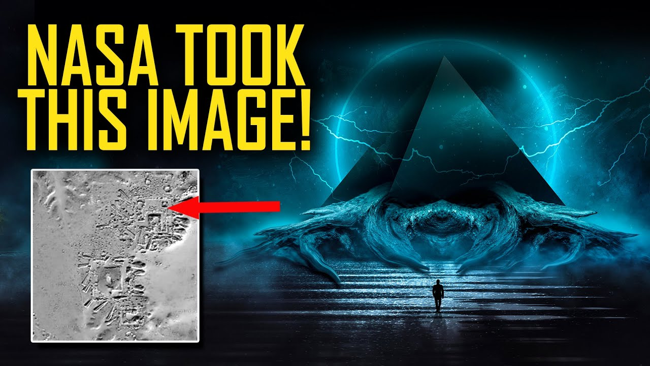 NASA Satellite Shows Ancient Structures & Mysterious Pyramid in Antarctica