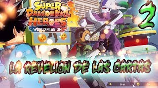 La revelión de las cartas!!! - Super Dragon Ball Heroes World Mission #2