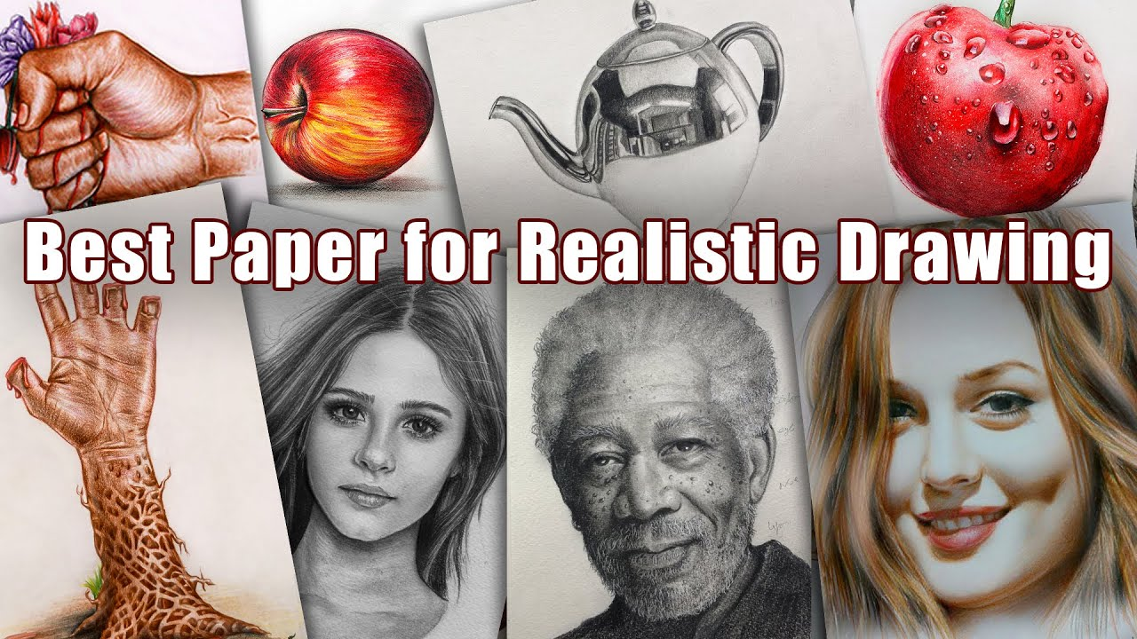 Best Paper for Realistic Drawing