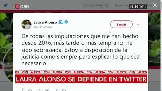 Laura Alonso se defiende en Twitter tras su imputación