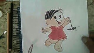 Desenhando a Monica