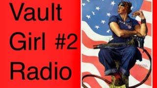 Fallout New Vegas Vault Girl Galaxy Diamond Classical Radio #2