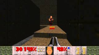 Doom 2 (Early Version) - Map06: The Crusher