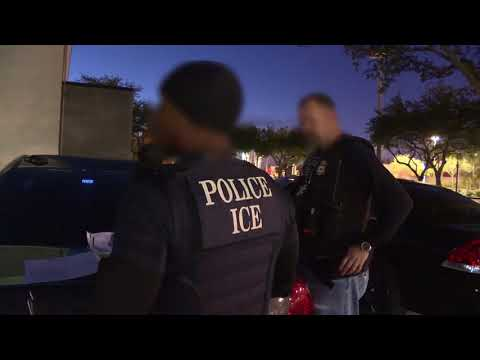 DFN: ICE Arrests Criminal Aliens During Operation No Safe Haven 2018, UNITED STATES, 04.18.2018
