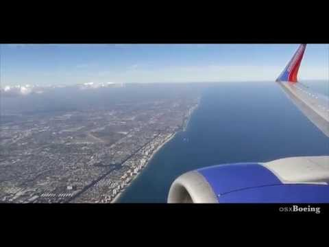 Southwest 737-300 Amazing Landing - Fort Lauderdale Hollywood International
