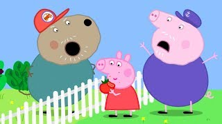 Peppa Pig Official Channel  Peppa Pig&#39s Best Tomato Salad