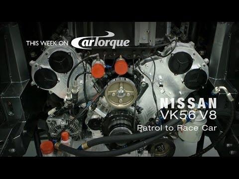 CarTorque Episode 12: Nissan VK56 - V8 from Patrol to V8 Supercar