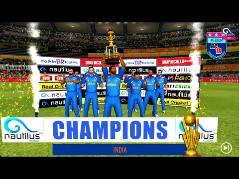 Real Cricket 19-Champions Cup Gameplay