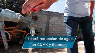 La Conagua exhortó a la población para hacer un uso más eficiente del agua, eliminar desperdicios y evitar la disposición inadecuada de basura en coladeras
