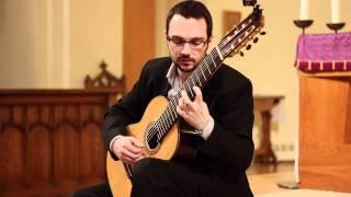 J.S. Bach, Prelude BWV 1006a - Drew Henderson, 8 string guitar