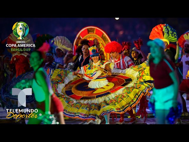 La ceremonia inaugural de la Copa América 2019 dedicada a todo el mundo   Telemundo Deportes