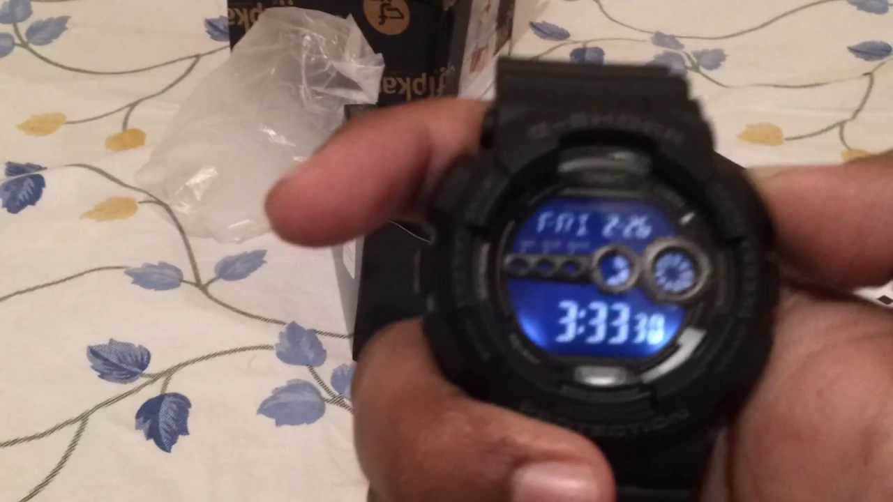 Casio G Shock Gd 100 1bdr G310 Unboxing Part 1 Of 2