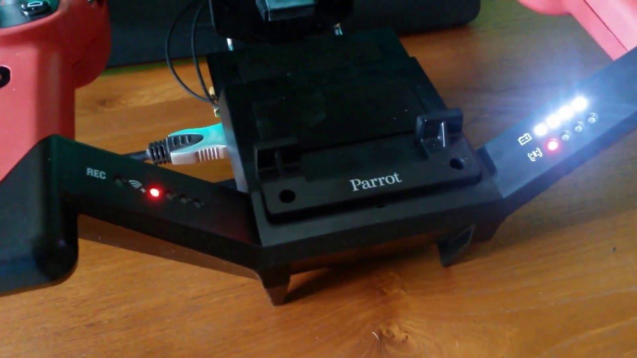 mise a jour skycontroller bebop parrot 01 youtube. Black Bedroom Furniture Sets. Home Design Ideas