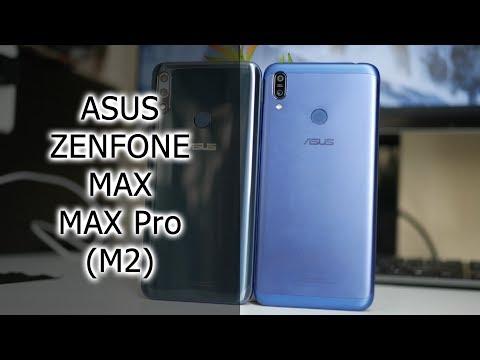 ОБЗОР-СРАВНЕНИЕ   ASUS Zenfone Max и Max Pro (M2)