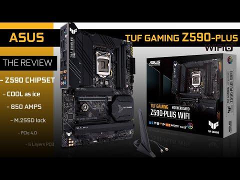 ASUS TUF GAMING Z590-PLUS WiFi : TUF is now a Premium board!