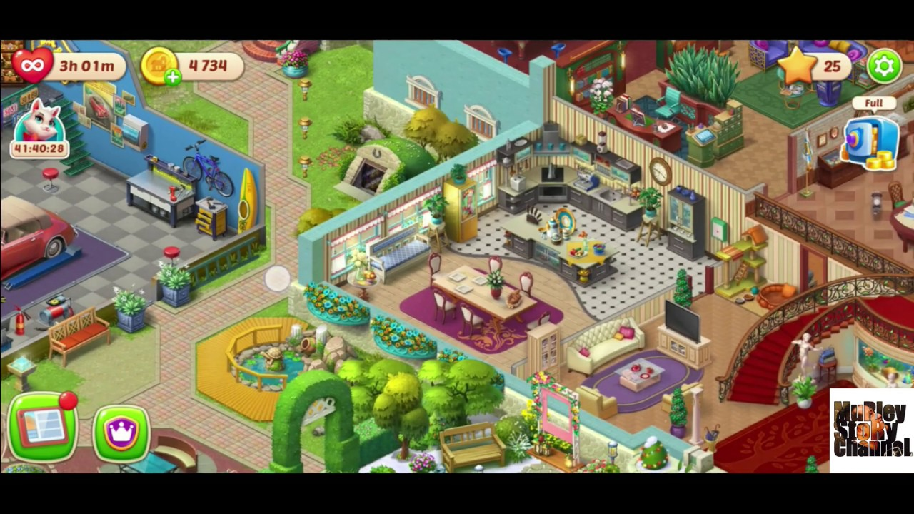 Download Homescapes Complete - Parents House